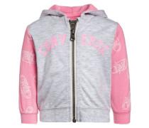 Strickjacke - pink glow