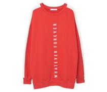 WHATEVER Sweatshirt red