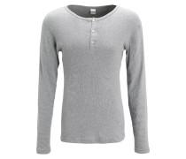 Nachtwäsche Shirt - grey melange
