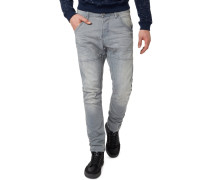 Jeans Slim Fit washed green