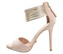 AVA High Heel Sandaletten nude