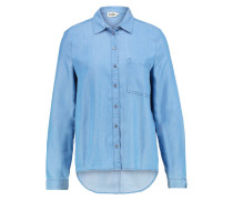 OPHELIA SHIRT Hemdbluse mid blue