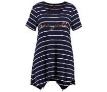 T-Shirt print - navy