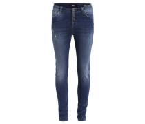 OBANTIFITALLY Jeans Slim Fit dark blue denim