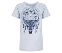 ISABE - T-Shirt print - illusion melange