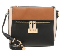 DIAZ Handtasche black/tan/cream