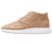 Sneaker high beige
