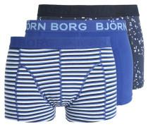 3 PACK Panties dark blue/white
