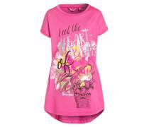 Jerseykleid - shocking pink/pink