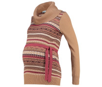 Strickpullover camel/port royal