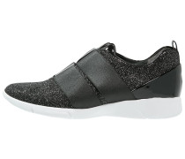 Sneaker low anthrazit glitter