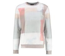 Sweatshirt black/red/white