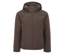 THAD Winterjacke dark brown
