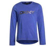 Langarmshirt cobalt blue