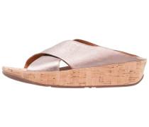 KYS - Pantolette flach - bronze