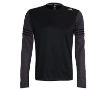 RESPONSE Langarmshirt black/utility black