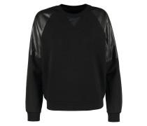 GStar YAIWA CROPPED R SW L/S Sweatshirt black