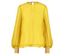 MITZI - Bluse - oil yellow