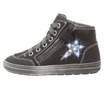 Sneaker high steel/silver