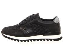 Sneaker low nero/argento