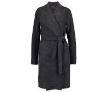 ONLUMA Wollmantel / klassischer Mantel dark grey melange