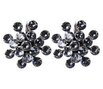 MAGIC FIREBALL - Ohrringe - grey crystal