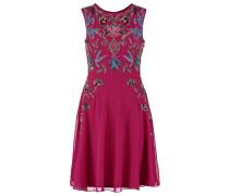 ESMERALDA Cocktailkleid / festliches Kleid cranberry