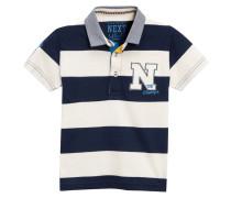 Poloshirt navy/white