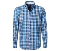 TAILORED FIT - Hemd - blau
