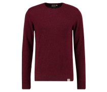 PLAYOFF Strickpullover chianti heather
