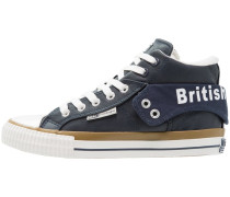 ROCO - Sneaker high - navy/white