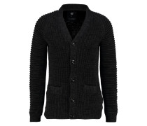 GStar SUZAKI CARDIGAN KNIT L/S Strickjacke dark black/asfalt
