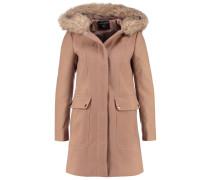 Wollmantel / klassischer Mantel light brown