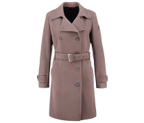 Wollmantel / klassischer Mantel hazelnut