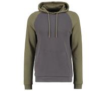 Sweatshirt black/oliv