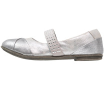 Riemchenballerina - silver