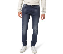 Jeans Straight Leg washed purple