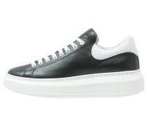 Sneaker low zwart/wit
