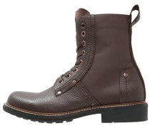 LABOUR - Schnürstiefelette - dark brown