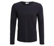 EARTH CONTRAST Nachtwäsche Shirt vulcan grey/black