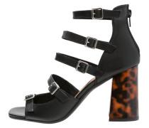 SUVA High Heel Sandaletten black