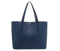 Shopping Bag navy/grey