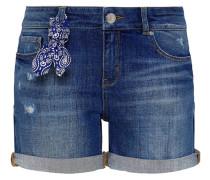 Jeans Shorts - middle blue denim