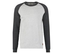 MAXIMUS Strickpullover charcoal / off white