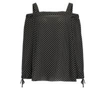 SPOT COLD SHOULDER - Bluse - black