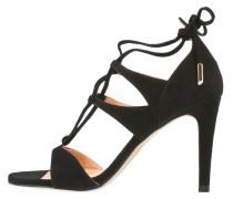 High Heel Sandaletten negro