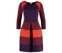 Jerseykleid - burgundy
