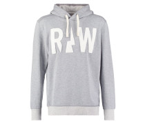 GStar GROUNT HOODED SW L Kapuzenpullover grey heather