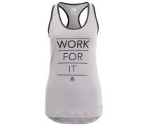 PLAY HARD Funktionsshirt grey/black