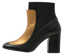 LORNA Ankle Boot black/gold